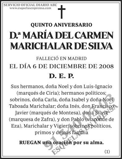 María del Carmen Marichalar